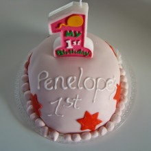 Πρώτη Τούρτα – My first birthday cake attempt