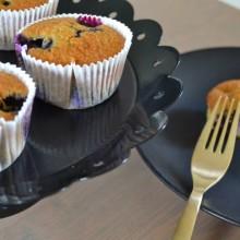 Μάφιν με Μύρτιλλα- Blueberry Muffins