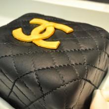 Ορθογώνια τούρτα με stylish θέμα- Rectangular Fashion Birthday Cake