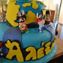 Τούρτα Rabbids Invasion – Birthday Cake Rabbids Invasion