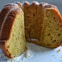 Κέικ πορτοκάλι με καστανή ζάχαρη και αραβοσιτέλαιο – Orange Cake with demerara sugar & vegetable oil