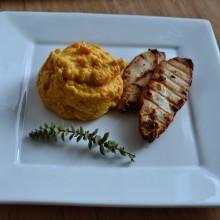 Food Challenge – Ψητά Φιλετίνια Κοτόπουλου με πουρέ καρότου & αμύγδαλου- Grilled Chicken Filets with carrot & almond puree -Liebster Award