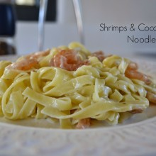 Shrimps & Coconut Milk Noodles