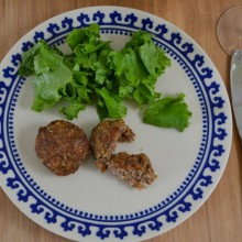 Food Challenge – Burgers with Oat Flakes