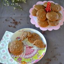 Food Challenge : Μπισκότα μελιού με Κακάο Νίμπς-  Cookies with Honey & Cacao Nibs