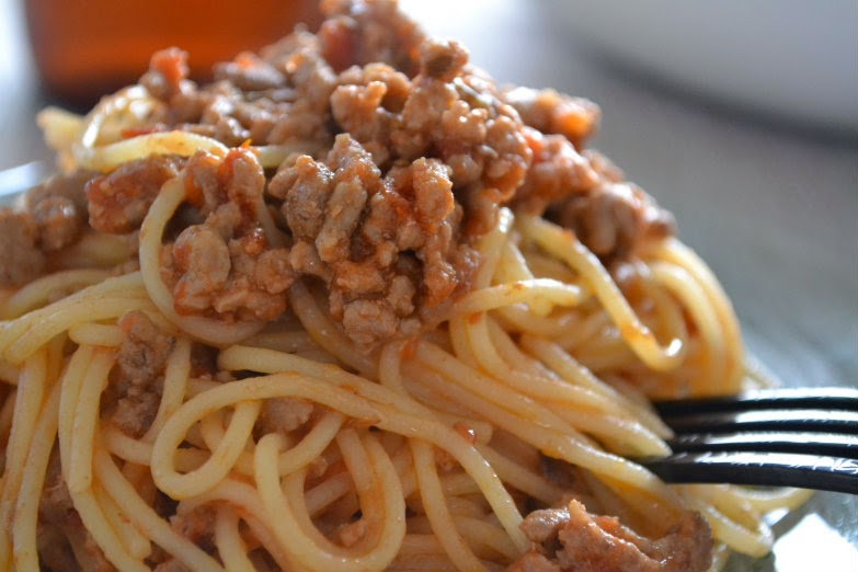 how to cook spaghetti mince meat