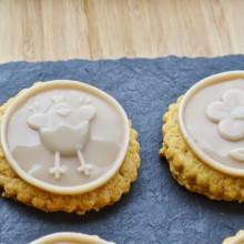 Μπισκότα Λαδιού με Πορτοκάλι & Γάλα φουντουκιού – Orange Hazelnut Cookies