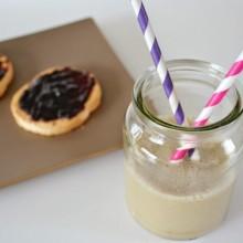 Νηστίσιμο Smoothie με Μπανάνα & Γάλα Φουντουκιού