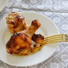 Κοπανάκια Κοτόπουλου με Σόγια Σως