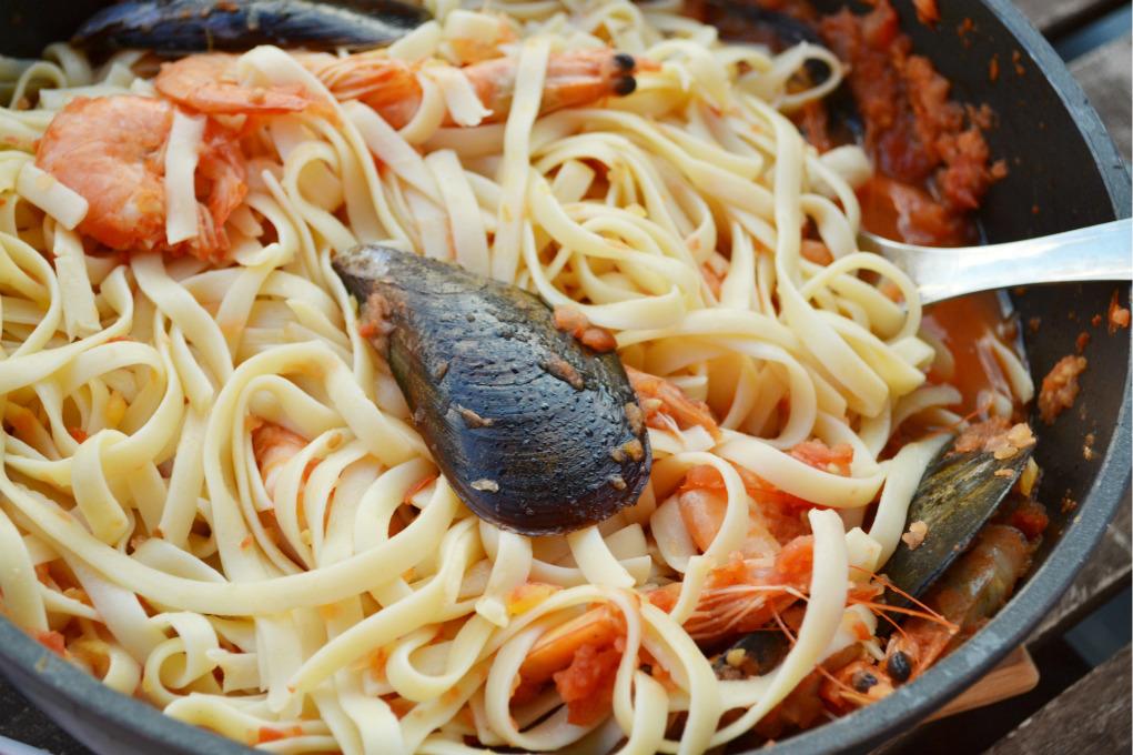 seafood pasta DSC_0073