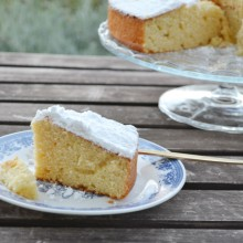 Cake με λεμονίτα