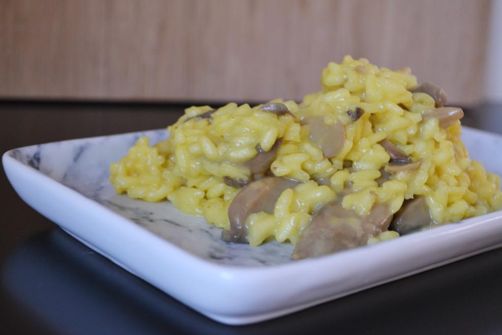 saffron mushroom risotto DSC_0203