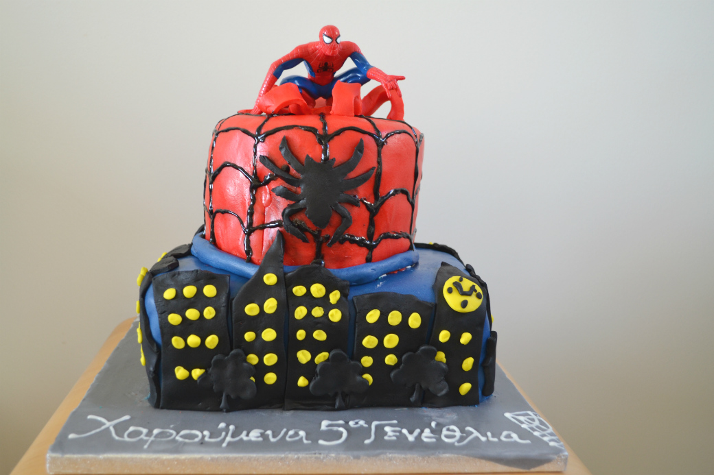 spiderman cake DSC_0142
