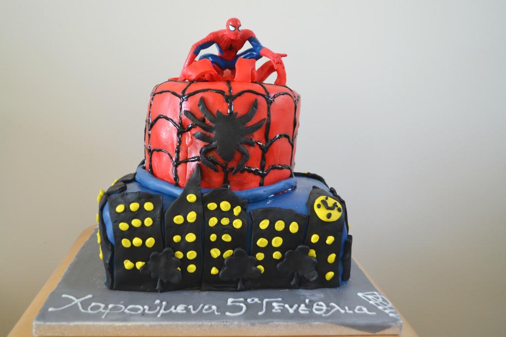 spiderman cake DSC_0142