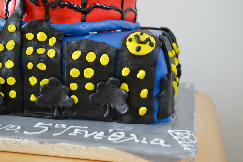 spiderman cake DSC_0153