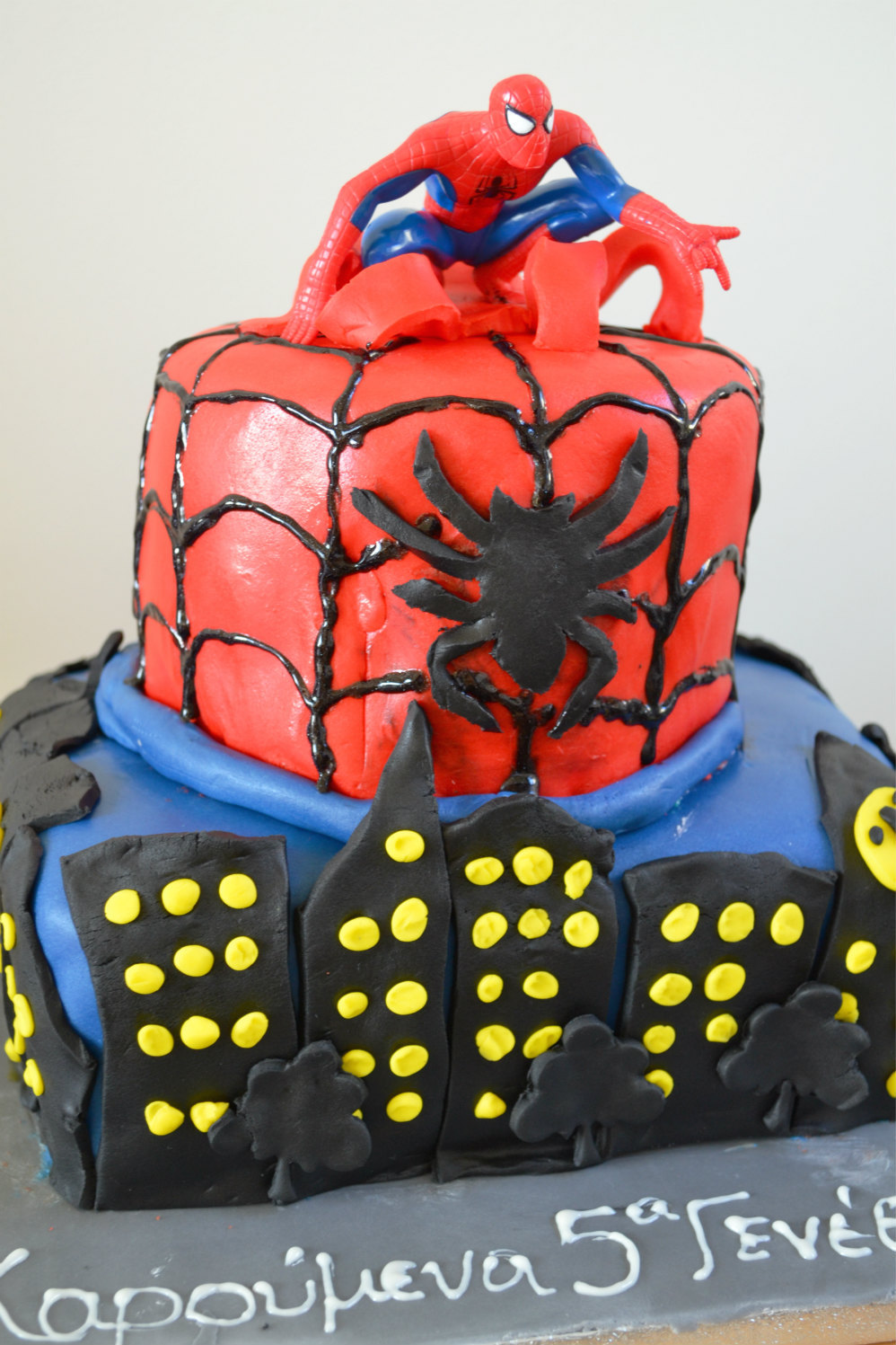 spiderman cake DSC_0160