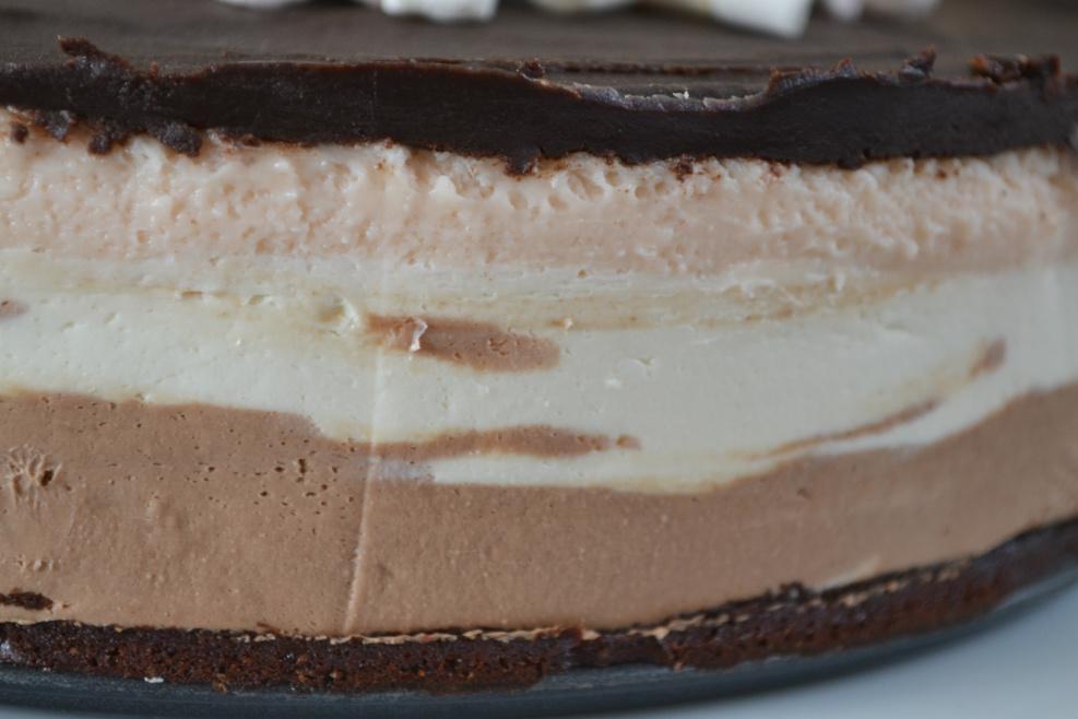 triple mousse brownie cake DSC_0091