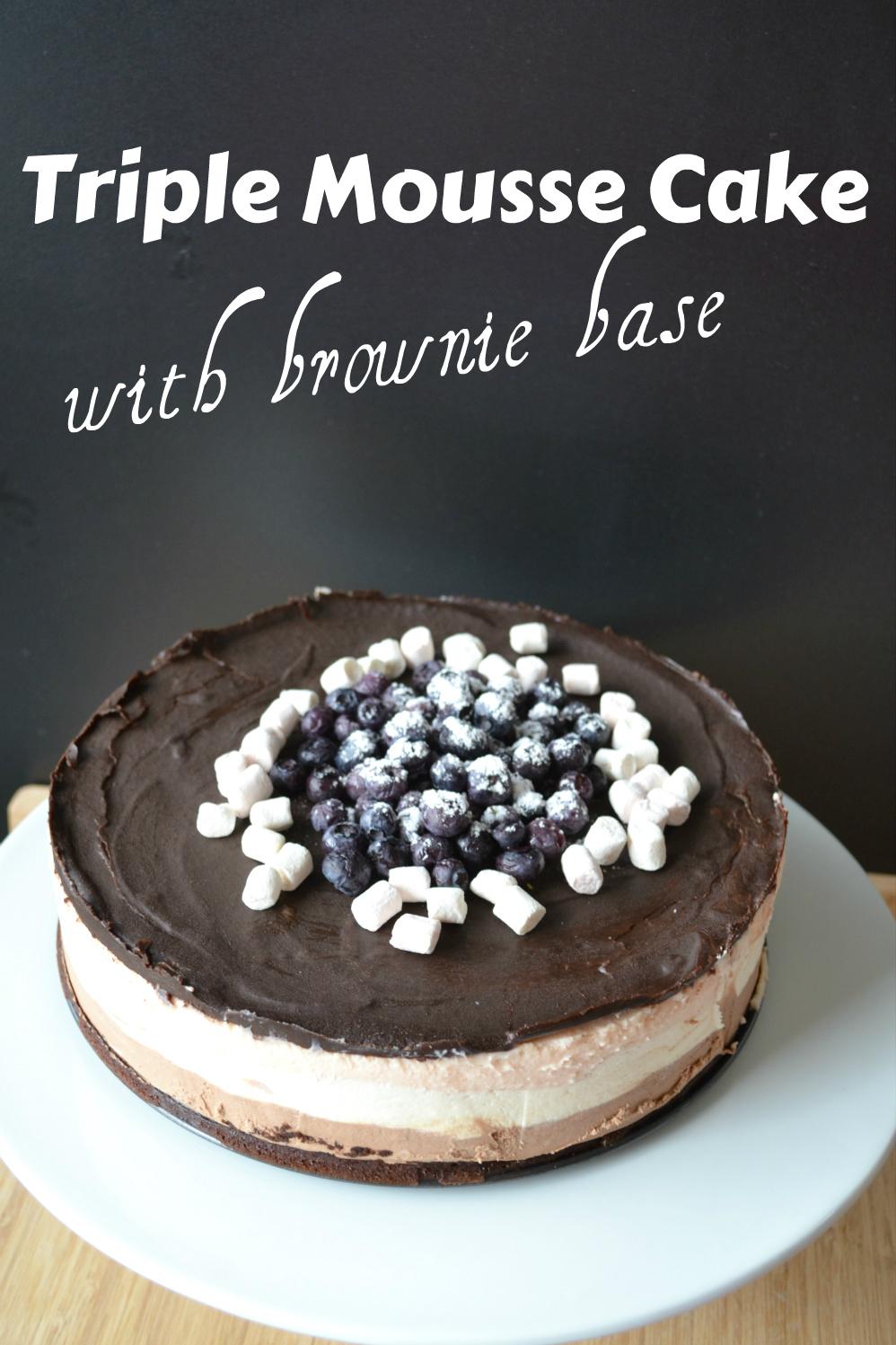 triple mousse brownie cake letters DSC_0052