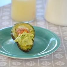 Αυγό σε αβοκάντο