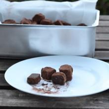 Τρούφες σοκολάτας και Giveaway