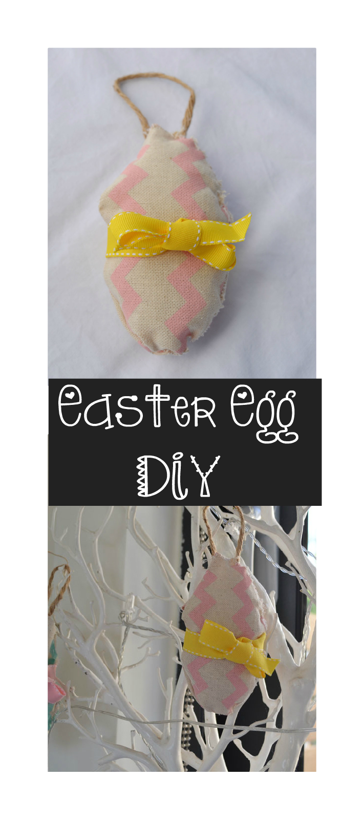 diy easter egg sew kit