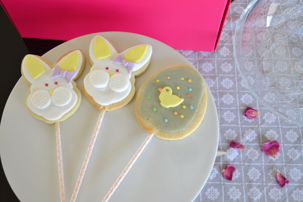The cutest easter sugar cookies