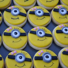 Minion Sugar paste Cookies