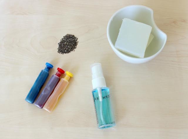 materials for hanmdae soap