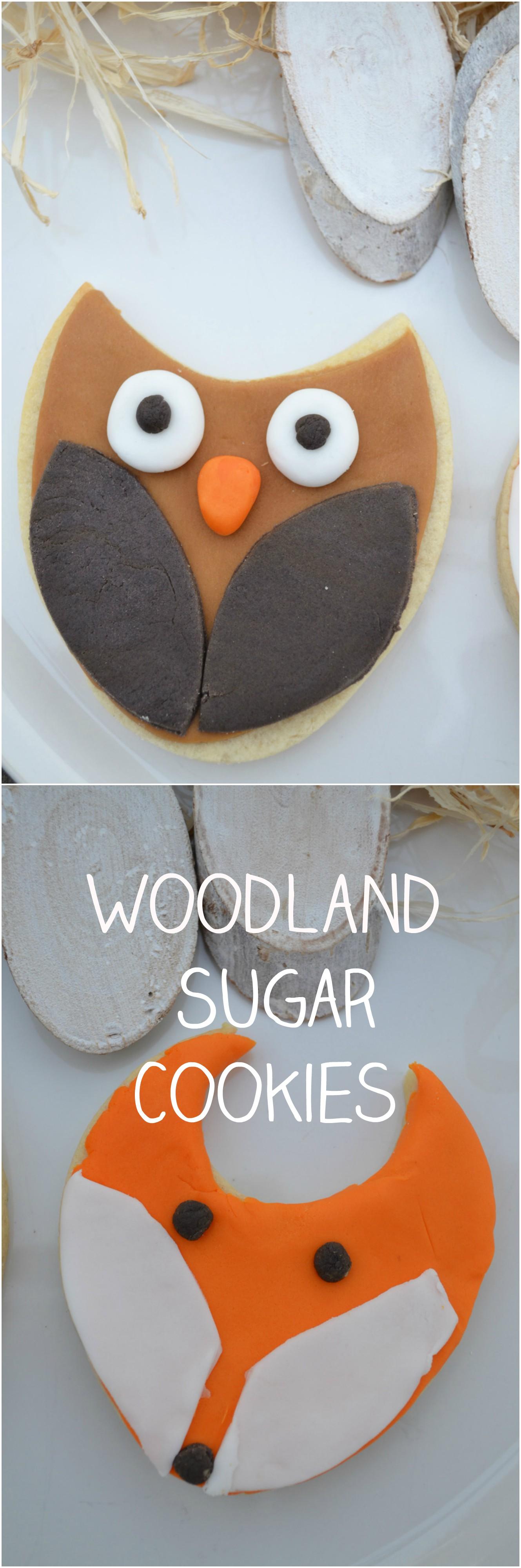 Woodland Sugar Cookies Tutorial