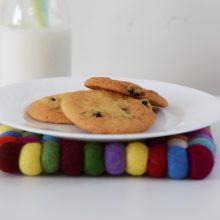 Μπισκότα με κράνμπερι και το 4o Craft Party του C2