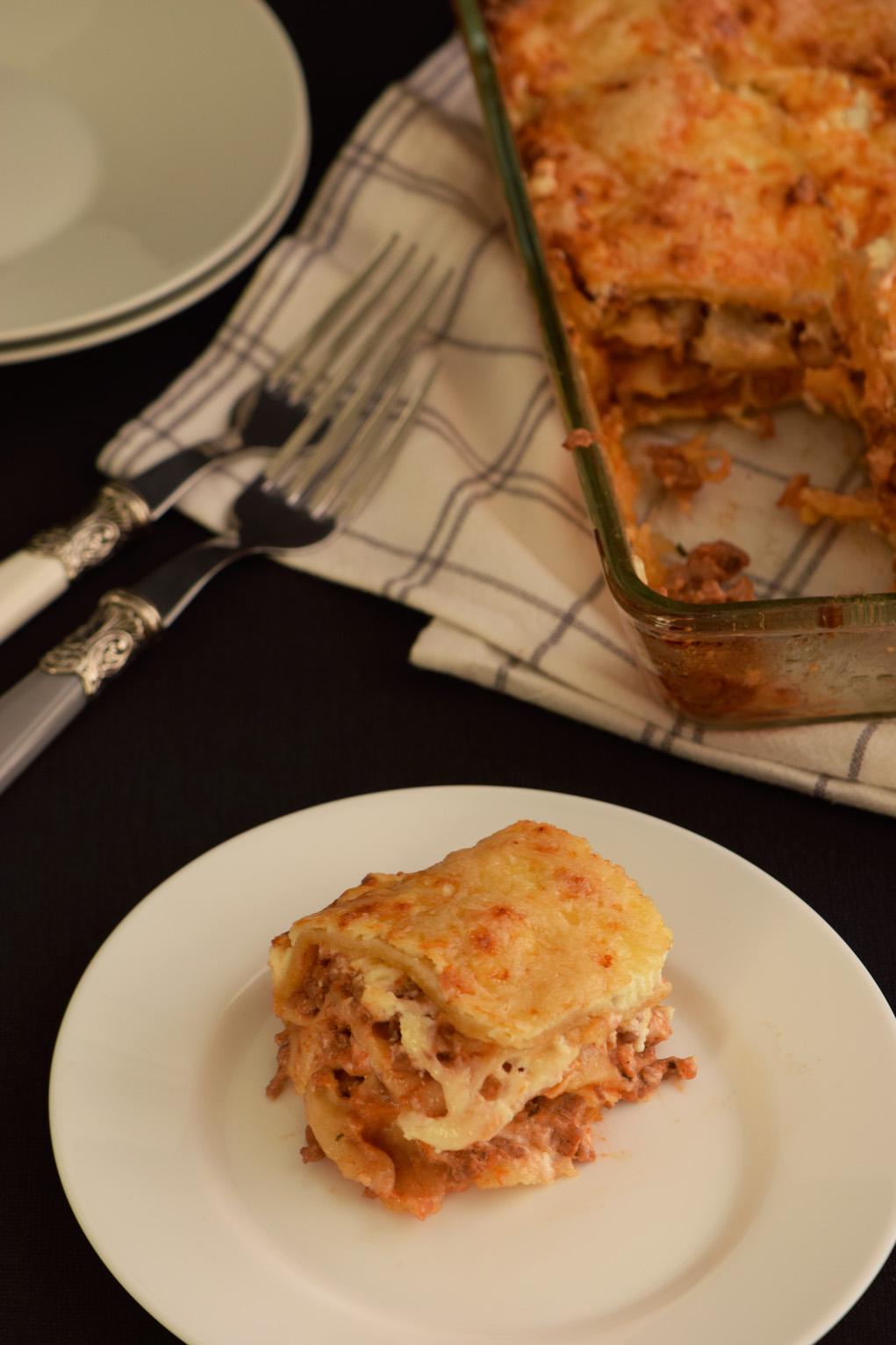 minced meet lasagna DSC_0048