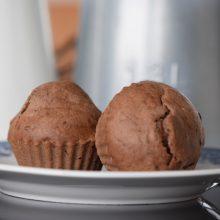 Κεκάκια Σοκολάτας με Φουντουκέλαιο & Διατροφή στο Σχολείο