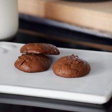 Μπισκότα 2 υλικών με ταχίνι σοκολάτας & 4 χρόνια CraftCookLove