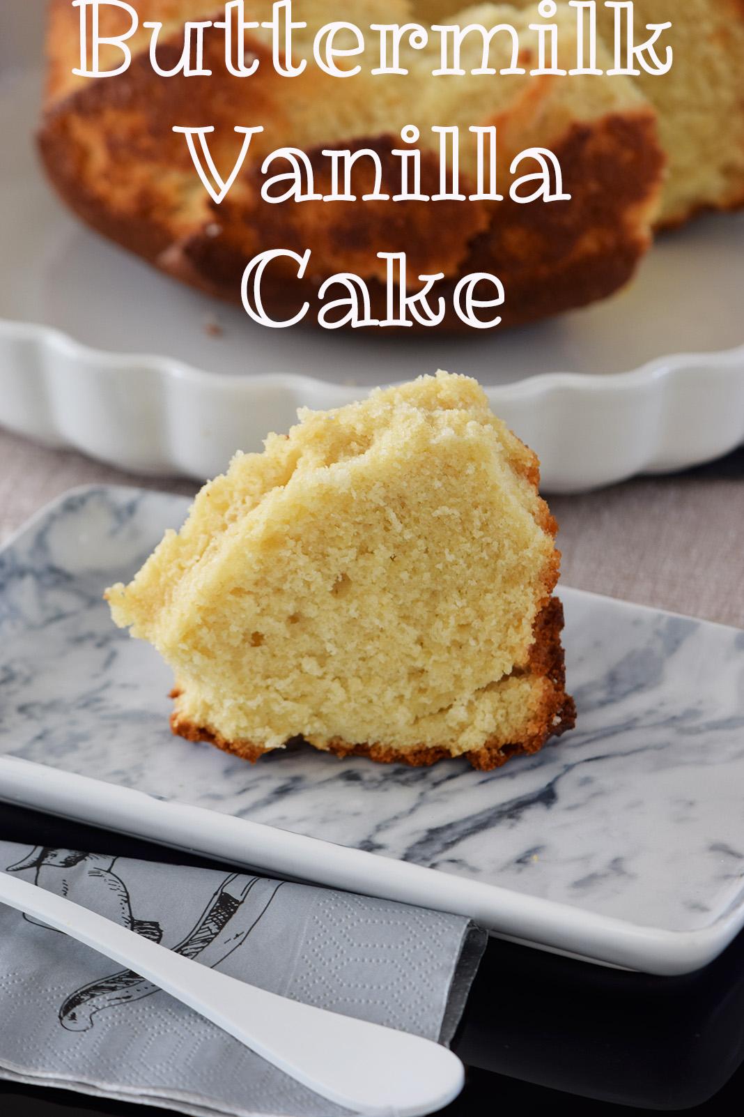 The fluffiest vanilla cake
