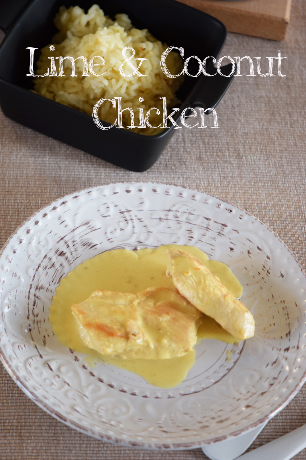An exotic twist to the classic chicken and rice meal full of color and aroma