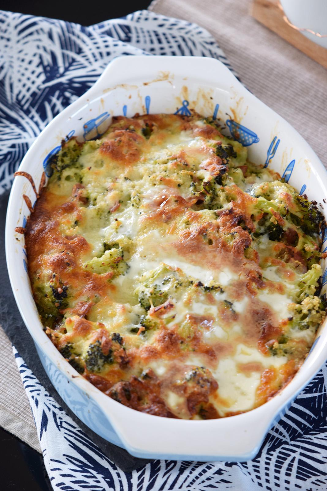 kinoa broccoli casserole_0057