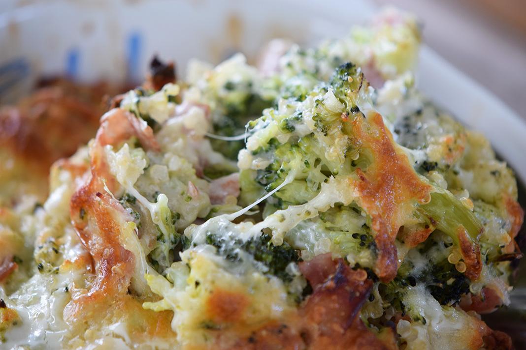 kinoa broccoli casserole_0073