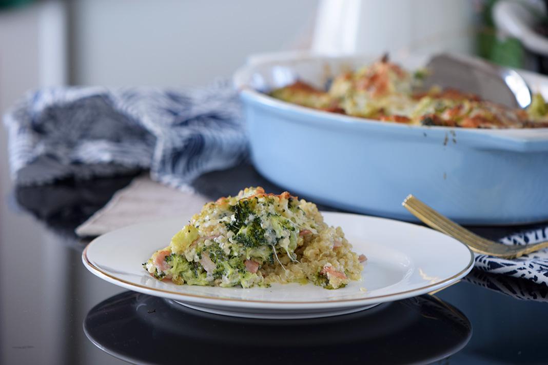 kinoa broccoli casserole_0076