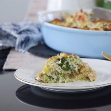 Quinoa and Broccoli Casserole