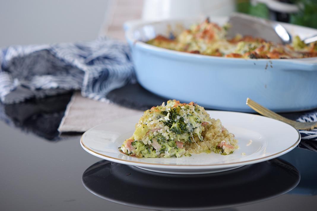 kinoa broccoli casserole_0077