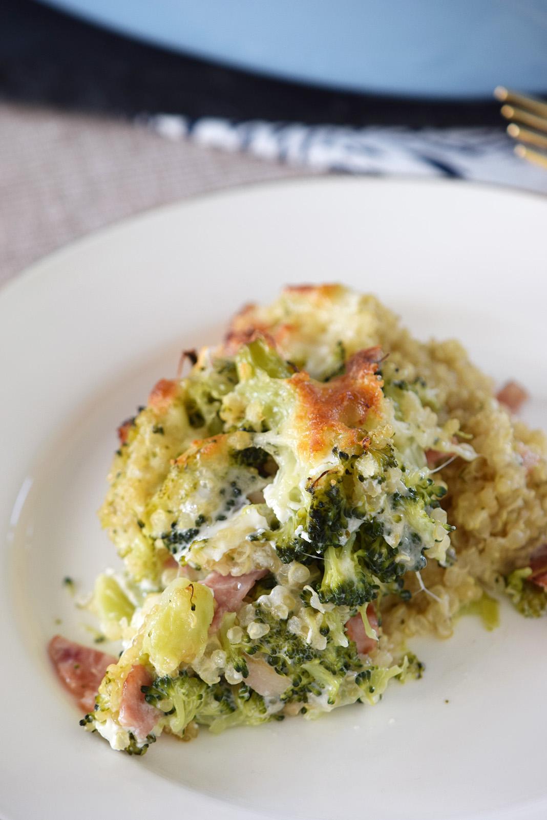 kinoa broccoli casserole_0090