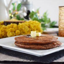 Νηστίσιμα Pancakes Σοκολάτας