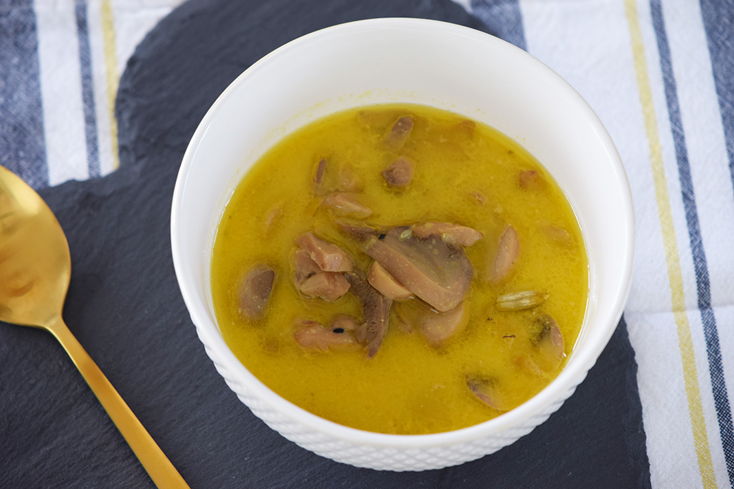 coconut milk tumeric soup_0893