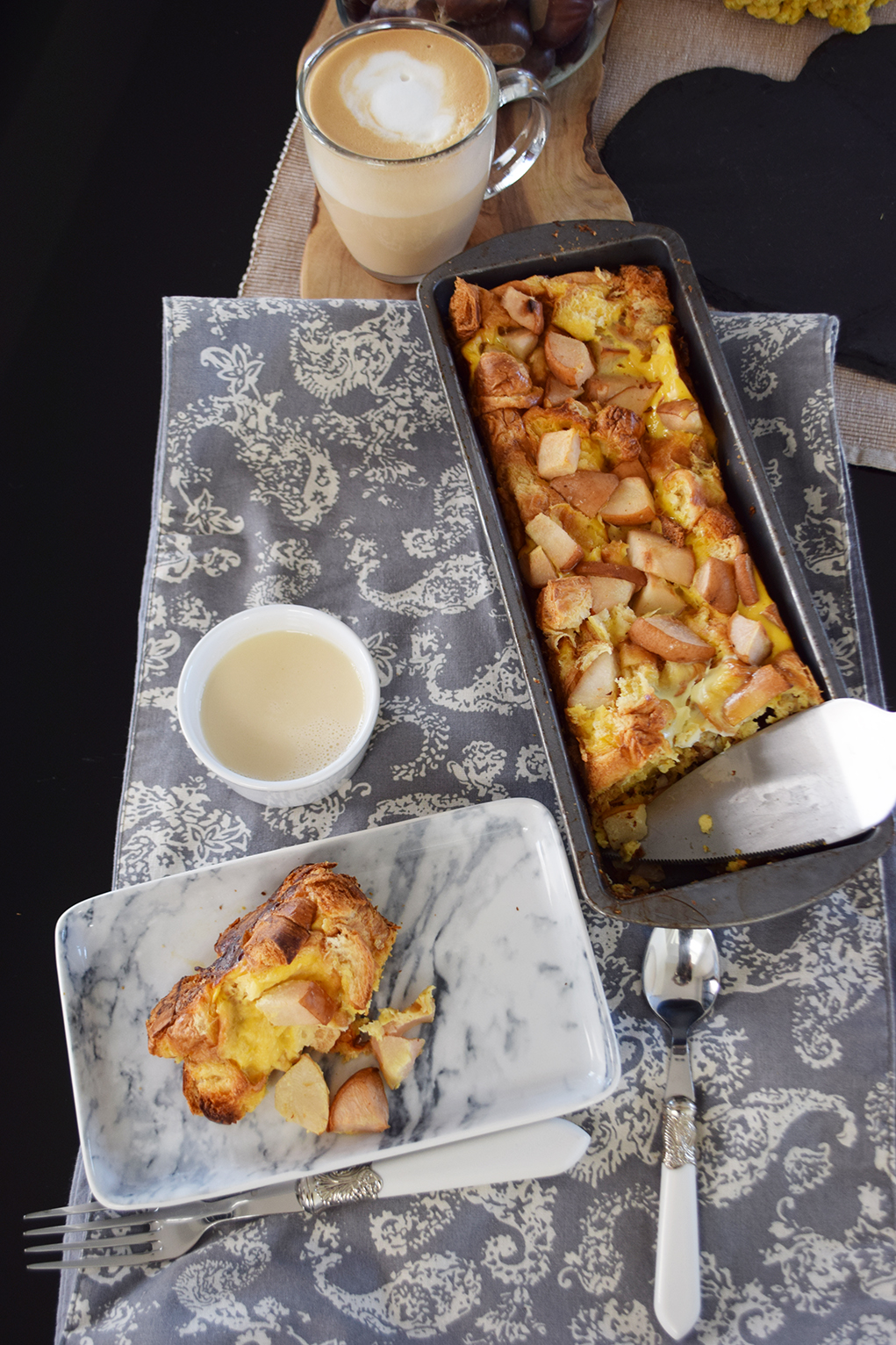 pear croissant pudding_0025