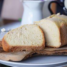 Λευκό Ψωμί με Αρτοπαρασκευαστή