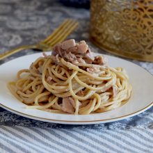 Chestnut Cold Meat Pasta