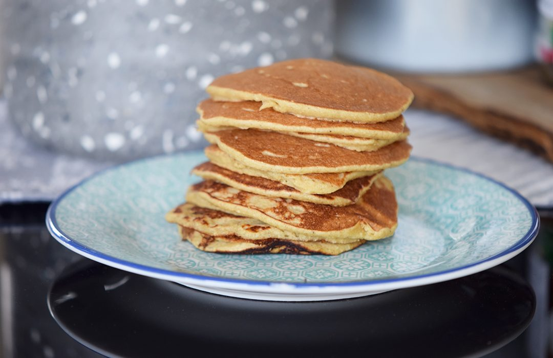 Pancakes Μπανάνας Βρώμης χωρίς γλουτένη - Craft Cook Love